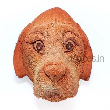 Coconut Head Dog Face