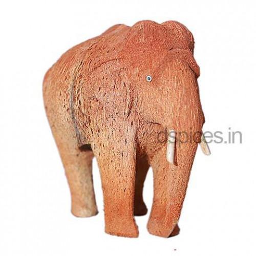 Coconut Husk Elephant