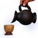 Coconut Shell Jug Set