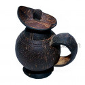 Coconut Shell Tea Jug